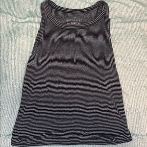 Striped American Eagle tank top. Great condition